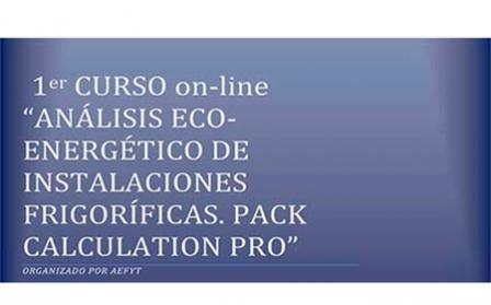 Versión online del curso sobre análisis eco-energético Pack Calculation PRO de AEFYT