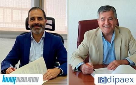 Knauf Insulation y Adipaex se unen para reforzar la posición de los instaladores en la construcción y rehabilitación sostenibles