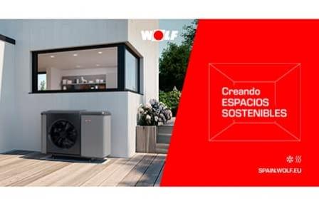 CHA Monoblock, la bomba de calor aerotérmica de WOLF con la que crear espacios sostenibles sin incrementar la factura energética