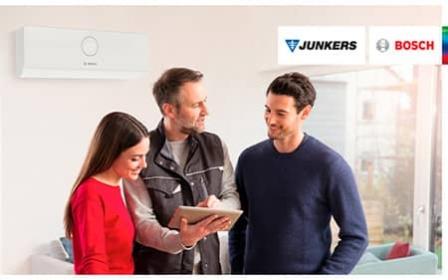 Junkers Bosch recomienda confiar el mantenimiento de los equipos de climatización al Servicio Técnico Oficial