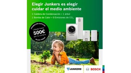 Este Black Friday Junkers doblará su campaña de calderas y bombas de calor hasta 500€