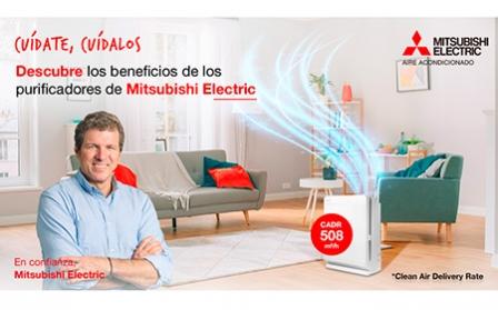 La calculadora on line de Mitsubishi Electric te ayuda a conocer cuál es tu purificador más idóneo