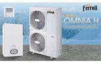Nueva bomba de calor para ACS OMNIA H de Ferroli