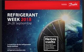 Danfoss celebra su segunda Refrigerant Week para promover el uso de refrigerantes de bajo PCA (GWP)