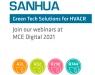 """Sanhua revela sus """"Green Tech Solutions"""" para refrigerantes naturales y productos A2L compatibles con R455A/R454C"""
