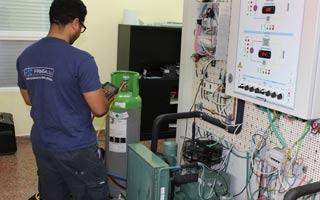 Primer estudio comparativo de Gases Refrigerantes Alternativos para instalaciones de refrigeración