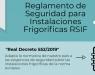Novedades del Reglamento de Seguridad para Instalaciones Frigoríficas RSIF 2021 - Infografía