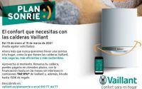 Nuevo Plan Sonríe :) de Vaillant, hasta 150 € por el cambio de tu caldera