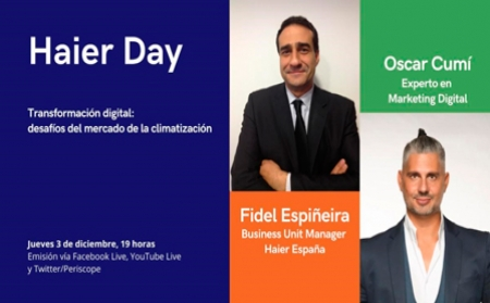 Haier Day, el webinar definitivo sobre transformación digital