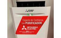 Mitsubishi Electric dona Purificadores de Aire para la campaña de realización de test de antígenos en Madrid