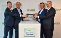 Daikin firma un acuerdo comercial con el fabricante de equipos de ventilación DUCO
