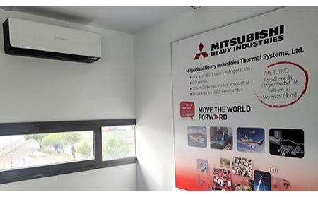 Lumelco traslada su oficina central, climatizada con los equipos de aire acondicionado de Mitsubishi Heavy Industries