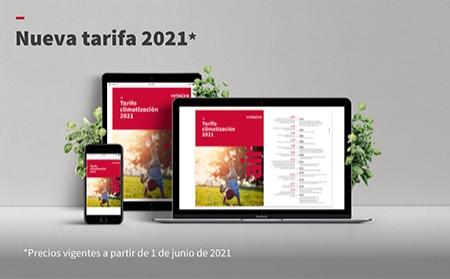 Nueva tarifa 2021 de Hitachi: Novedades, soluciones y alta tecnología