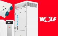 El purificador de aire AirPurifier de WOLF reduce la concentración de aerosoles en las aulas
