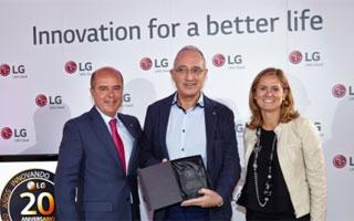 LG celebra su 20 aniversario homenajeando a las pymes de su canal de distribución