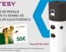 Promoción de TESY a clientes finales que compren e instalen bombas de calor AquaThermica