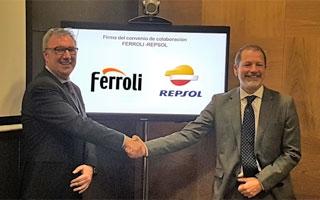 Acuerdo entre Ferroli y Repsol para impulsar el consumo de energía sostenible