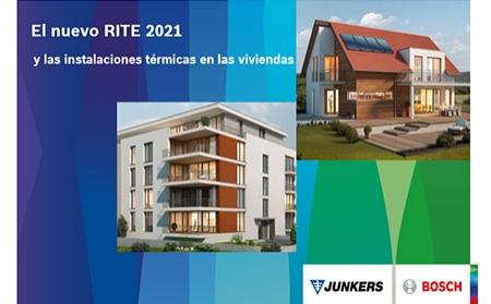 Junkers Bosch acerca las claves para entender el nuevo RITE 2021