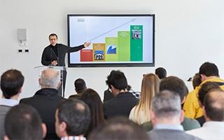 """Se inaugura en Pamplona la """"traininghaus"""", primer centro para  formar al sector de la construcción en edificación sostenible"""