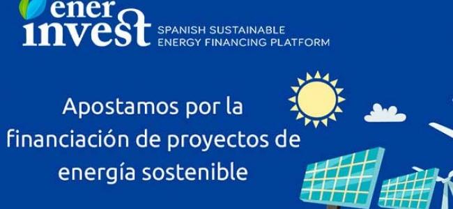 EnerInvest: instrumentos financieros para las energías sostenibles