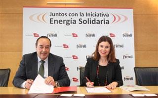 Ferroli y la Fundación EDP alcanzan un acuerdo para desarrollar 'Energía Solidaria'