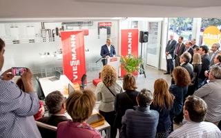 Viessmann inaugura el nuevo Servicio de Asistencia Técnica para caldera mural en Madrid