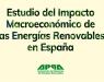 Las energías renovables, motor para la recuperación económica ya por encima del 1% del PIB