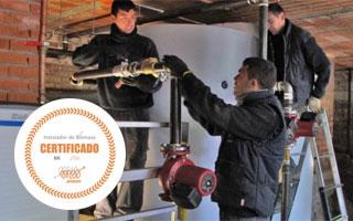 AVEBIOM desarrolla una marca de calidad para certificar a los instaladores de biomasa