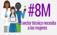 Día Internacional de la Mujer 2019: El sector técnico necesita a las mujeres