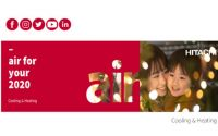 Hitachi Cooling & Heating España estrena sus redes sociales