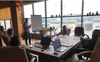 II reunión nacional de distribuidores de Australair con equipos de climatización evaporativa de la zona CES