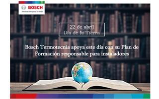 Bosch Termotecnia se une a la celebración del Día de la Tierra con su Plan de Formación responsable