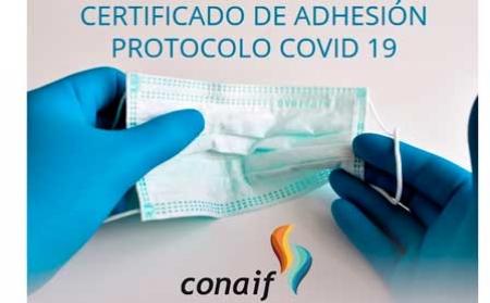 CONAIF lanza un certificado para empresas instaladoras comprometidas con la seguridad frente al COVID 19
