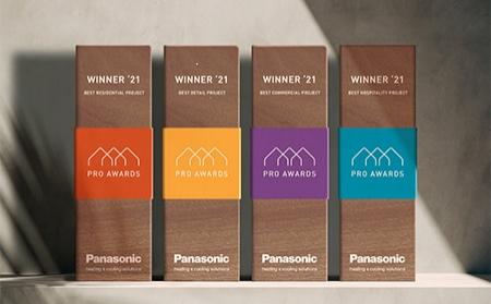 Cuarta edición de los Premios Europeos PRO Awards 2021 de Panasonic