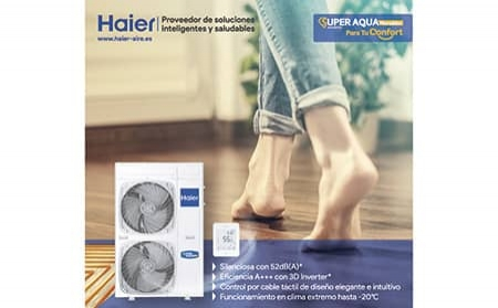 Super Aqua, el sistema sostenible de Aerotermia Monoblock de Haier