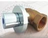 Válvula de corte para empotrar con cierre cerámico Kansas de Standard Hidráulica