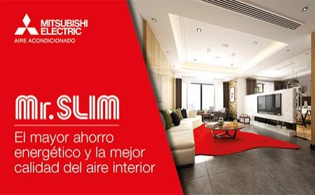 Campaña de Mitsubishi Electric para presentar la gama Mr. Slim