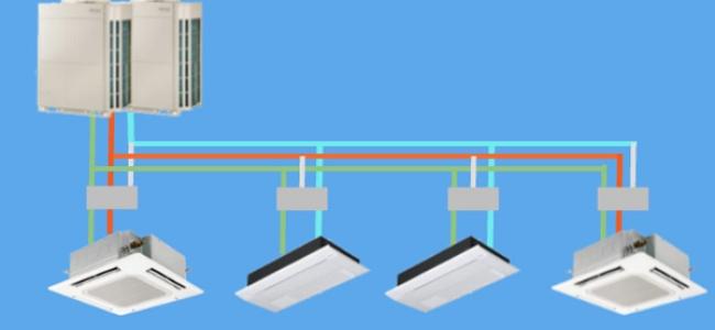 Sistemas VRF, la climatización eficiente para edificios y locales - Infografía