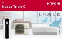 Triple C de Hitachi, novedad en expansión directa para las instalaciones térmicas en viviendas y locales comerciales