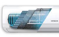 Nueva tecnología de auto limpieza de filtros del aire acondicionado Frost Wash de Hitachi mejora la calidad el aire