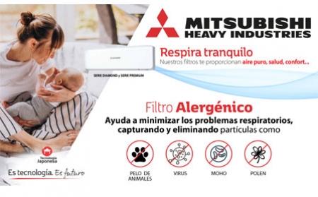 Mejora la calidad del aire que respiras con aire acondicionado Mitsubishi Heavy Industries