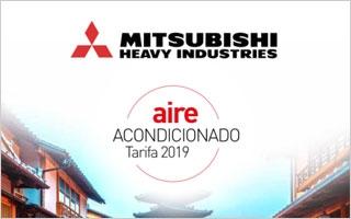 Nueva tarifa de Mitsubishi Heavy Industries 2019