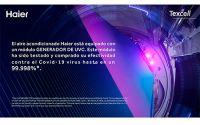 El GENERADOR UV-C de Haier Aire certifica su efectividad contra la COVID-19