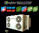 Equipos Keyter Wall-Top de aire acondicionado