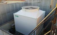 Instalación de un sistema de refrigeración evaporativa Torraval en un hotel de Bilbao