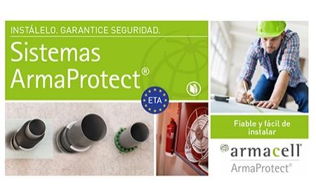 ArmaProtect®: Nuevo sistema de protección pasiva contra el fuego de Armacell