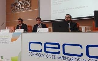 FEGECA en las jornadas sobre el Programa de incentivos para el desarrollo energético sostenible de Andalucía