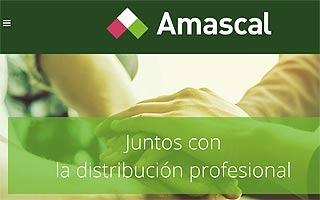 Amascal estrena web y nueva imagen corporativa