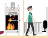 Estufas de leña ¿Cómo elegir la mejor para tu hogar? - Infografía