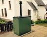 Caldera de biomasa para exteriores WP18 de Warmflow